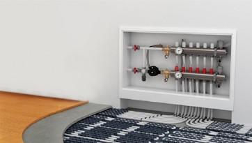 Θέρμανση δαπέδου υδραυλική