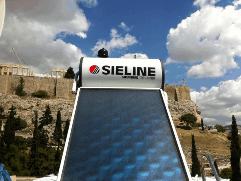Έργα και Εφαρμογές με Ηλιακούς Θερμοσίφωνες