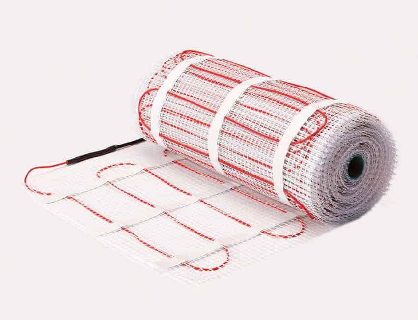 θερμικός τάπητας Ενδοδαπέδιας Θέρμανσης Warmup PVC
