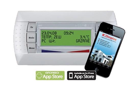 Ηλεκτρονικός 'Ελεγχος Αντλίας Θερμότητας DIMPLEX μέσω Εφαρμογής