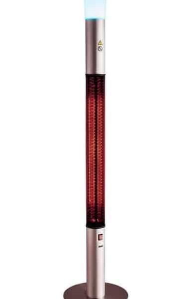 Σώμα υπέρυθρης Clima801LS θέρμανσης 360 μοιρών για εξωτερική χρήση .