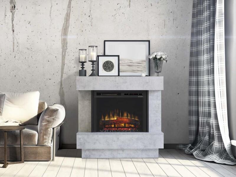 Ηλεκτρικό Τζάκι Dimplex Avalone Concrete- διακόσμηση
